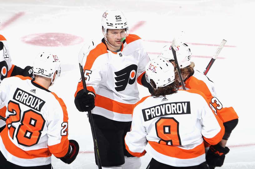 Flyers vs Devils