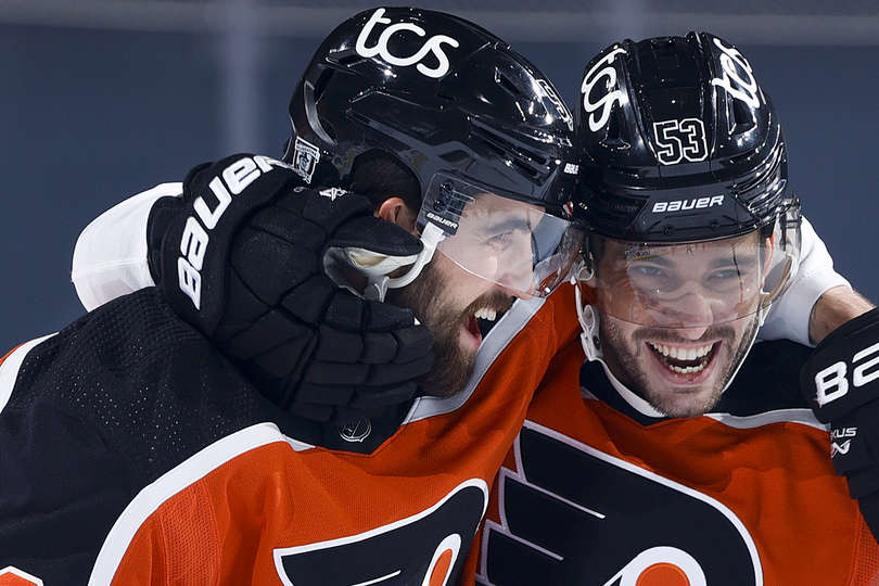Rangers vs Flyers