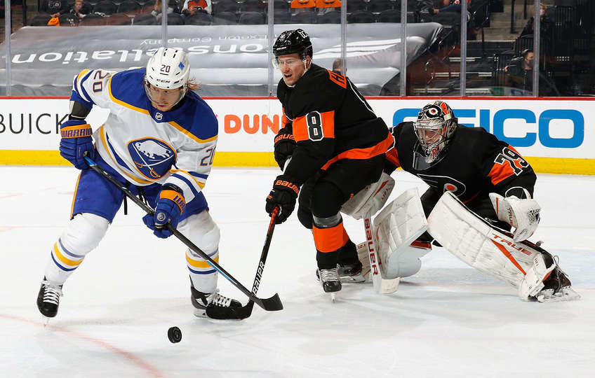 Sabres vs Flyers