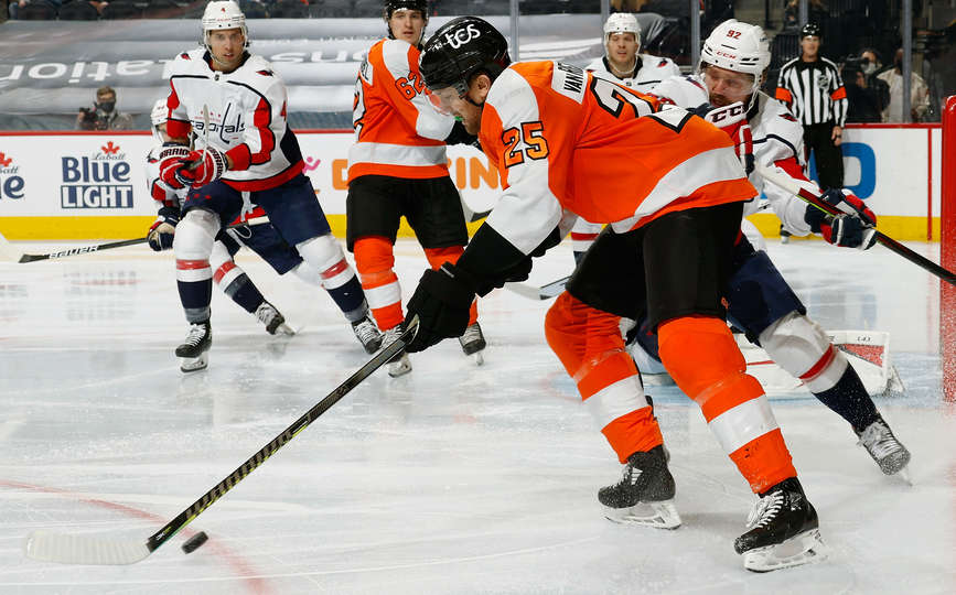 Capitals vs Flyers